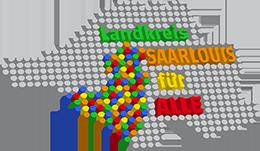 """Logo des Projekts """"Landkreis Saarlouis für Alle"""""""
