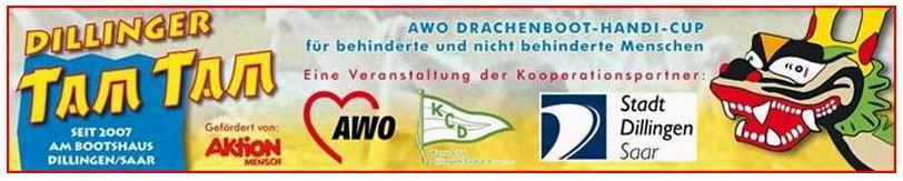 TAM TAM Drachenbootrennen - Banner